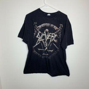 Mens 2XL Black Slayer Divine Intervention Shirt
